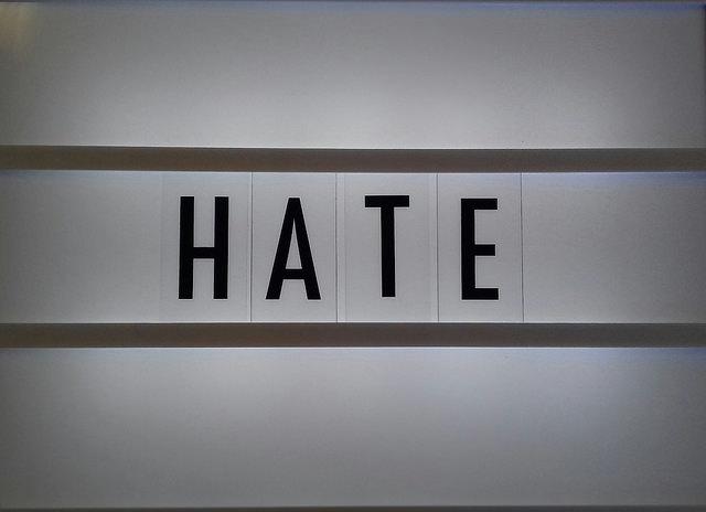 Hasserfüllt