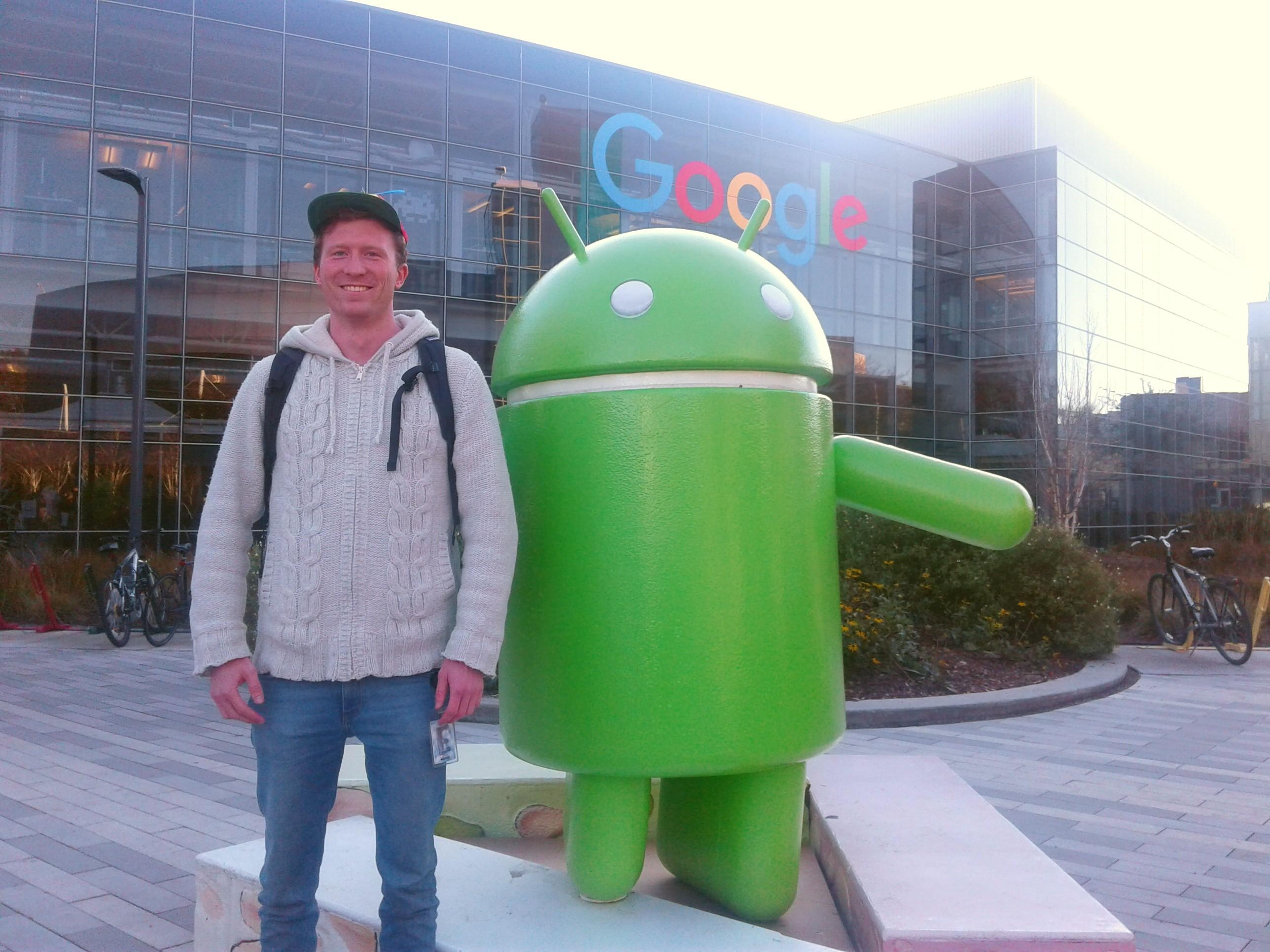 Mike Schäkermann hat einen Job bei Google