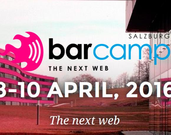The Next Web – Barcamp an der Fachhochschule Salzburg